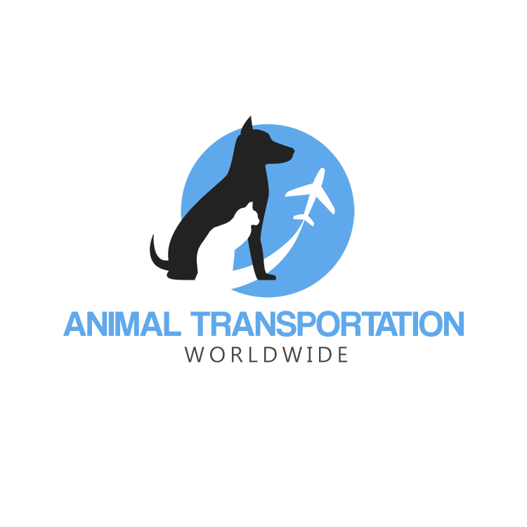 Animal Transportation Worldwide Logo Design