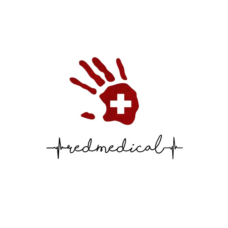 Red Medical Logo Design